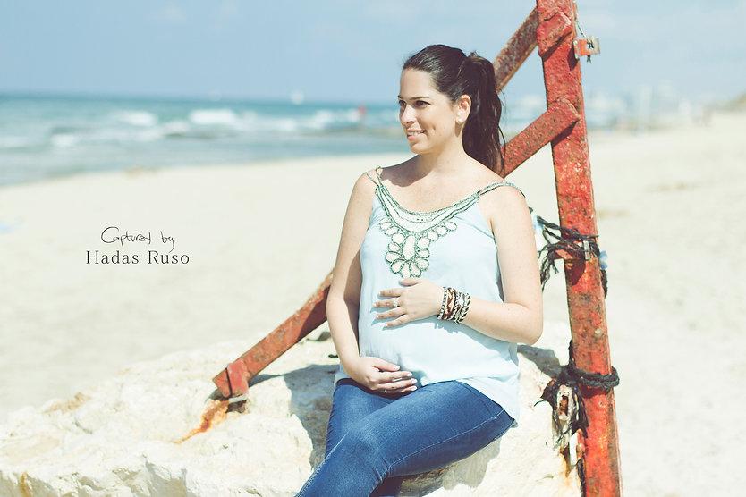 צילום הריון בים