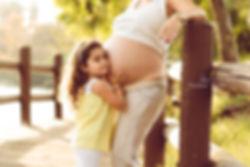 צילום הריון בטן חשופה