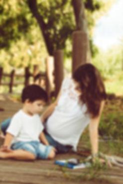 תמונת אמא ובן