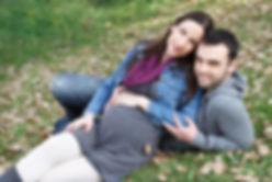 צילום הריון בפארק