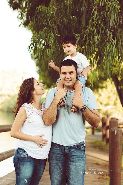 צילום הריון משפחתי