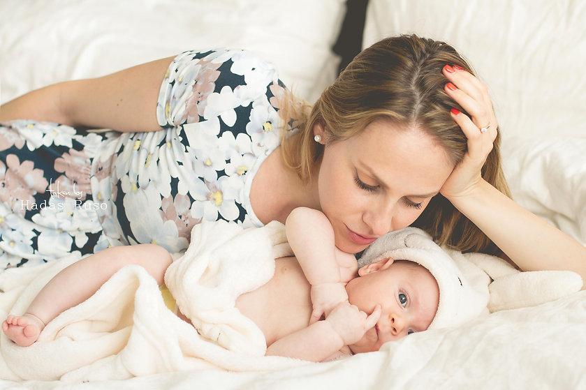 צילום אמא ותינוקת