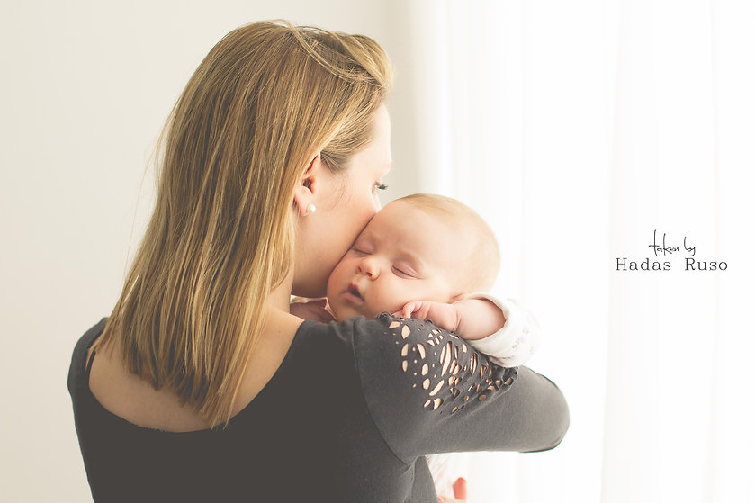 צילום תינוקות טבעי