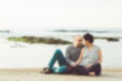 אלבום הריון בחוף הים