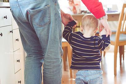 צילום משפחה בבית