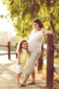תמונת משפחה אם ובת