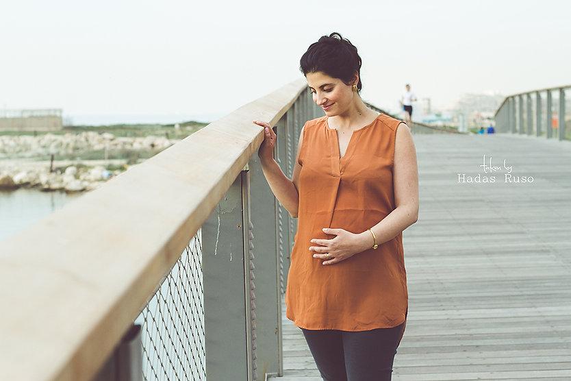 צילום הריון על גשר