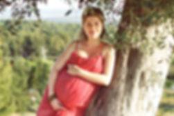 תמונות היריון בחורשה