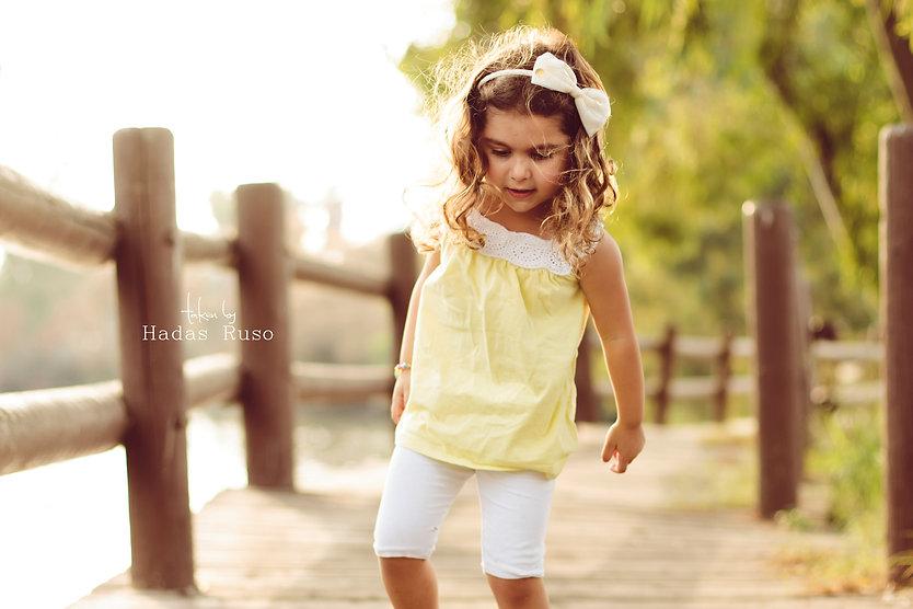 ילדה בפארק הירקון