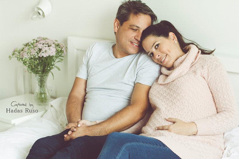 תמונות הריון ביתיות
