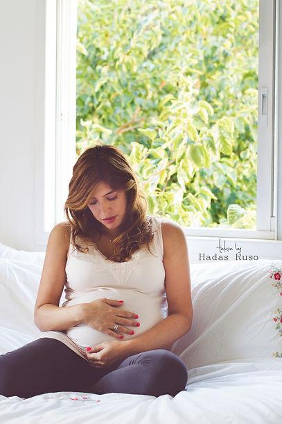 צילומי היריון בבית