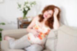 להצטלם בהריון בבית