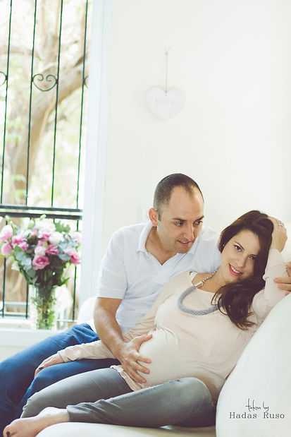 תמונות הריון בבית