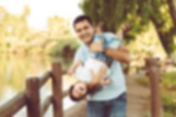 תמונת אבא ובן