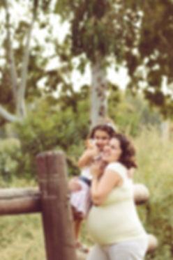 תמונת הריון אמא ובת תל אביב