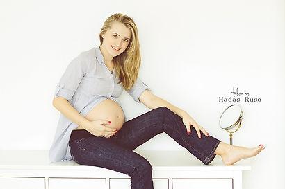 צילום הריון טבעי