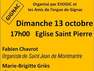 Les amis de l'orgue et l'Ensemble Vocal réunis pour un soir ...