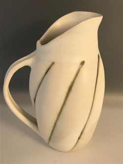 Charcoal Mallow Pitcher