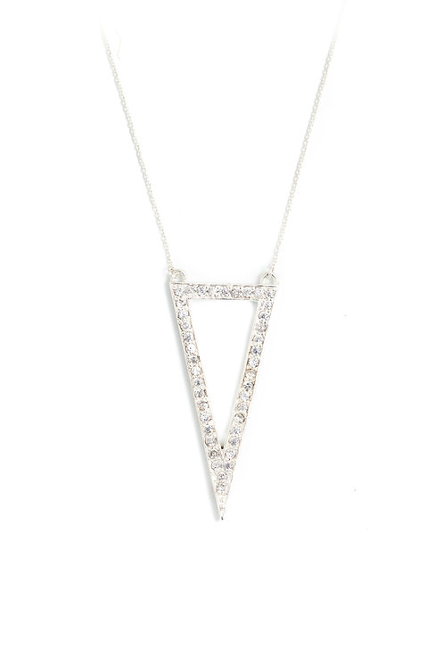 The Suki Necklace in Silver