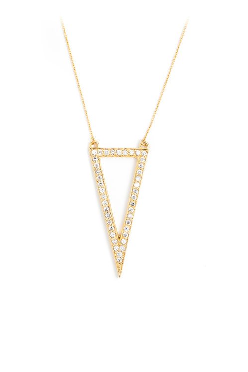 The Suki Necklace in Gold