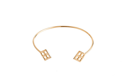 "The ""Eban"" Bracelet in Gold"