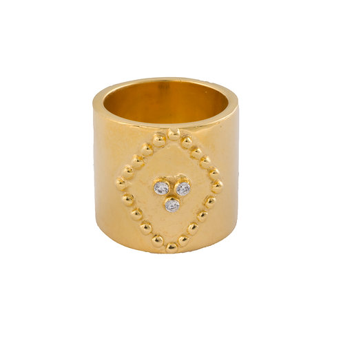 The Rilo Ring in Gold