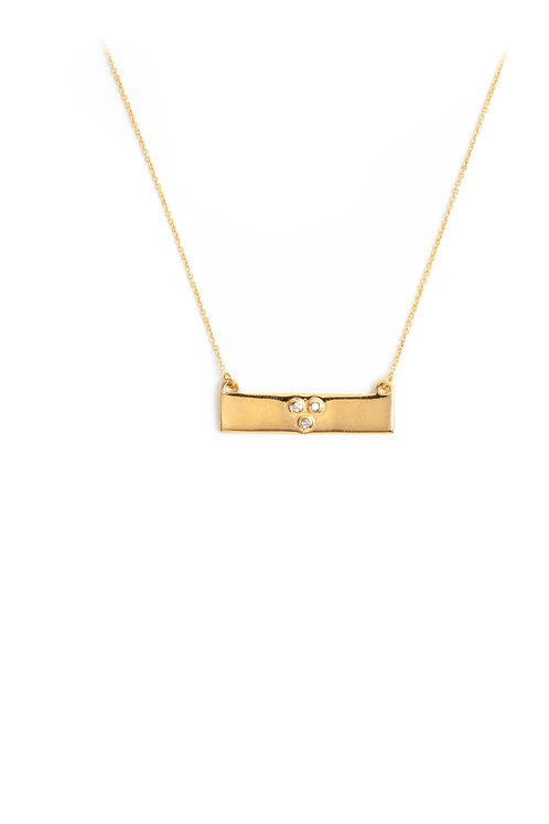 The Krista Necklace in Gold