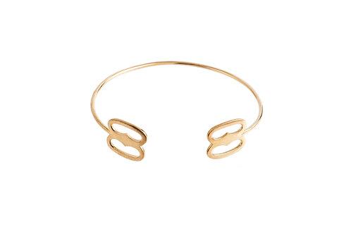 """The """"Nuame Biribi Wo Soro"""" Bracelet in Gold"""