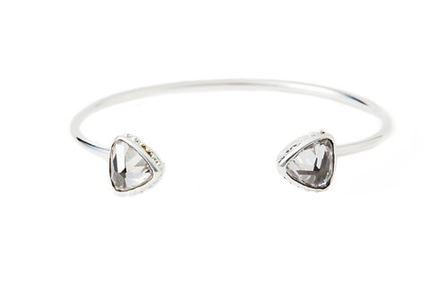 The Alexandra Cuff in Silver