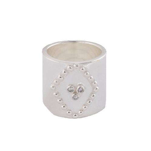 The Rilo Ring in Silver