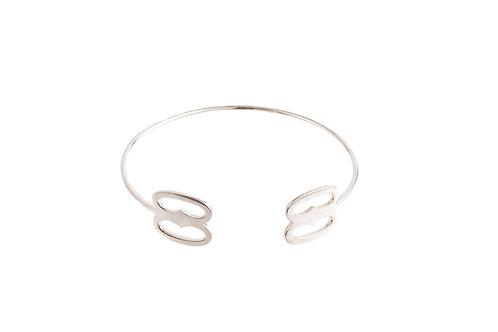 """The """"Nuame Biribi Wo Soro"""" Bracelet in Silver"""