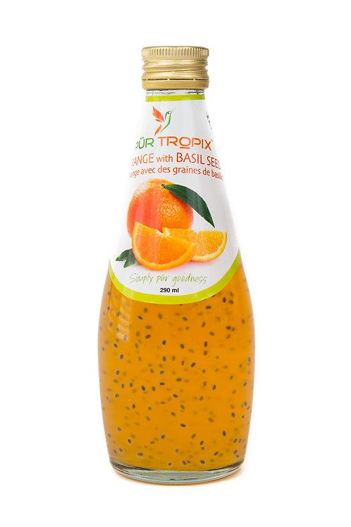 Pur Tropix Orange with Basil Seed