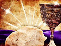 Communion Cup & Bread