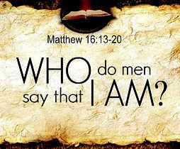 Verse from Matthew 16:13-20