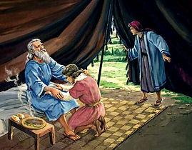 Jacob receives Esau blessing.JPG