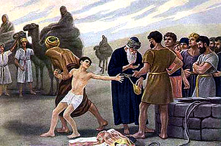 Joseph is Sold by Brothers