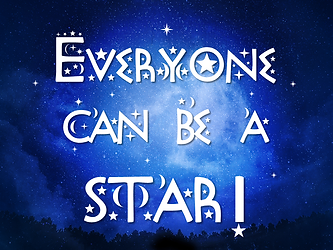 Words: Everyone Can Be A Star.pn
