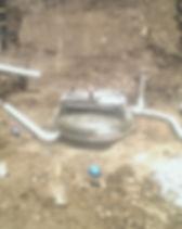 Basement stormwater pump out chamber