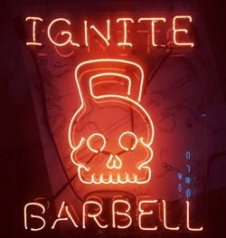 Ignite Barbell Sign