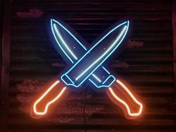 Cross Knife Sign