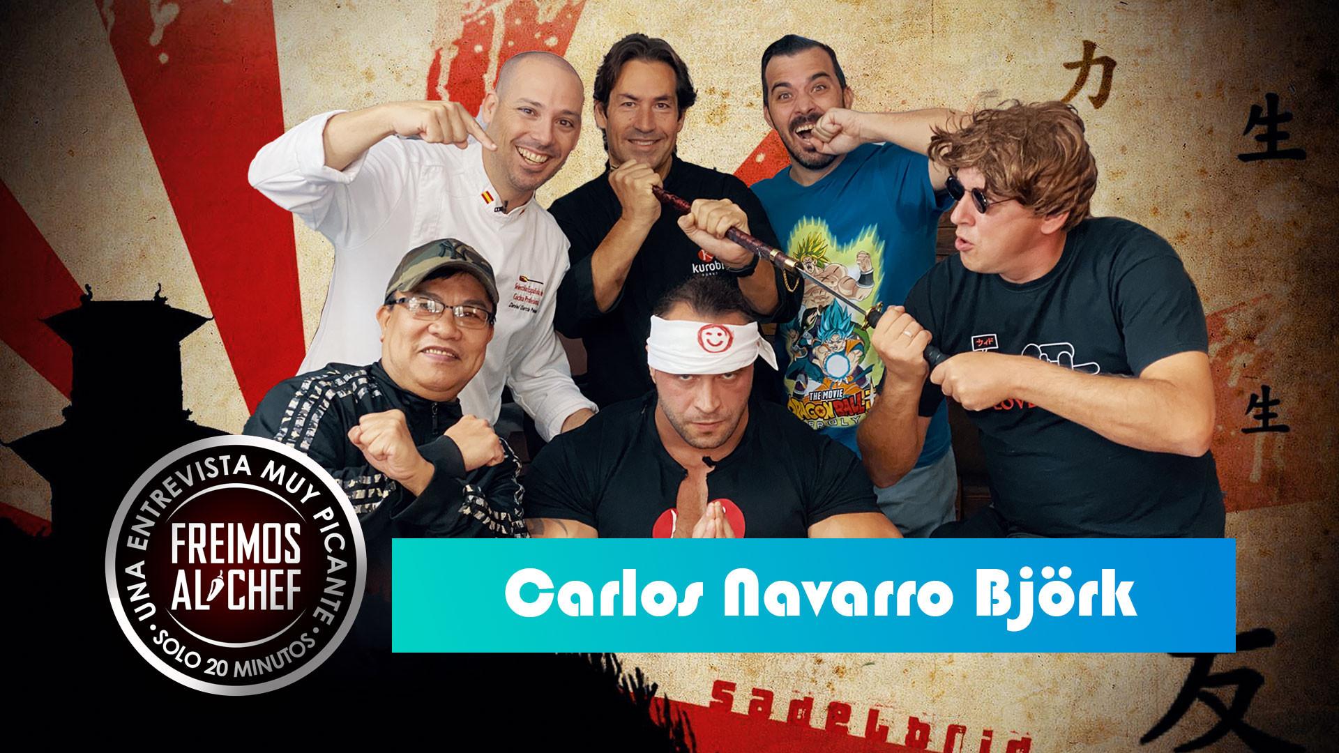 Freimos Al Chef - Carlos Navarro