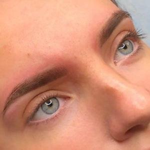 permanente make-up wenkbrauwen powderbro