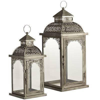 Silver Decorative Lantern