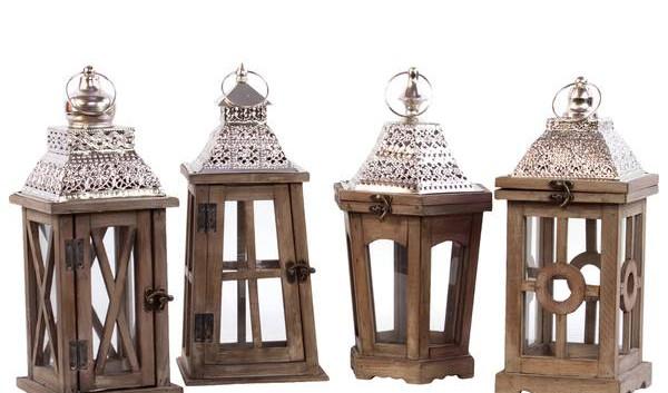 Wood Moroccan Lanterns