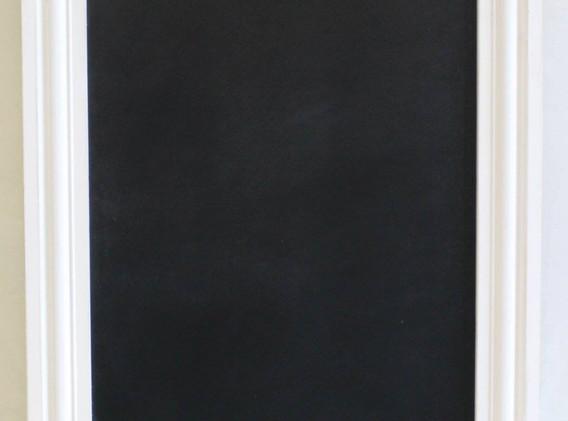 white chalkboard full