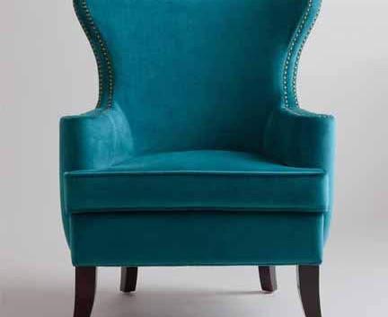 Pine Wingback Chair