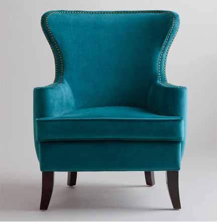 Pine Wingback Chair