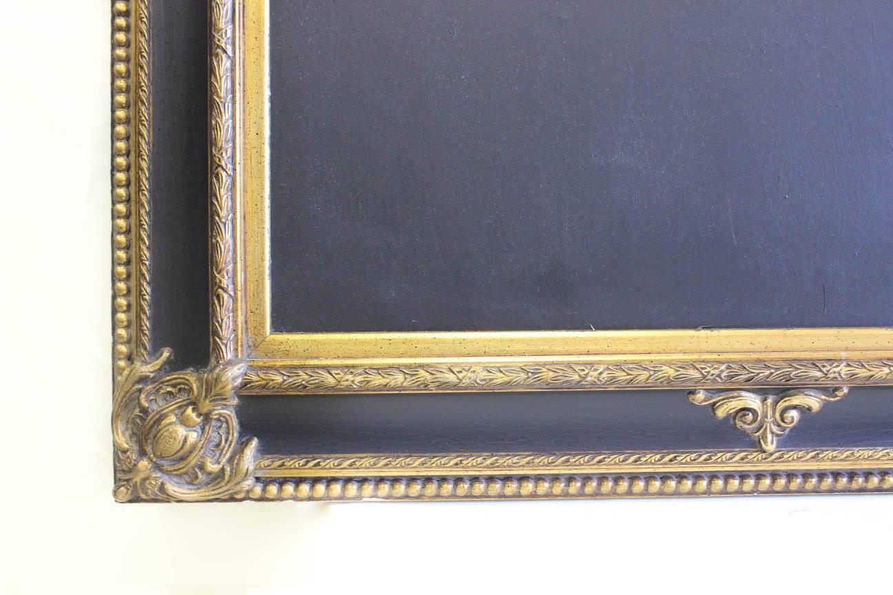 Corner chalkboard