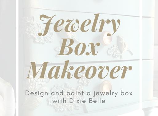 Thrift Store Makeover Using Dixie Belle & WoodUbend