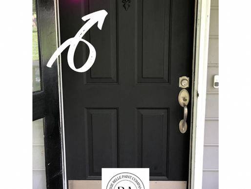 How To Makeover A Front Door - A Woodubend Tutorial